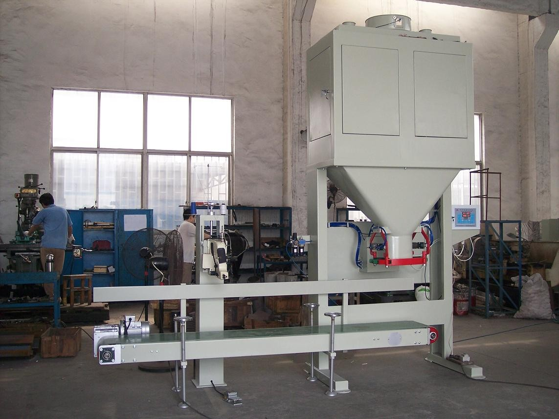 High Capacity Granular Fertilizer Bagging Machine 800 Bags / Hour